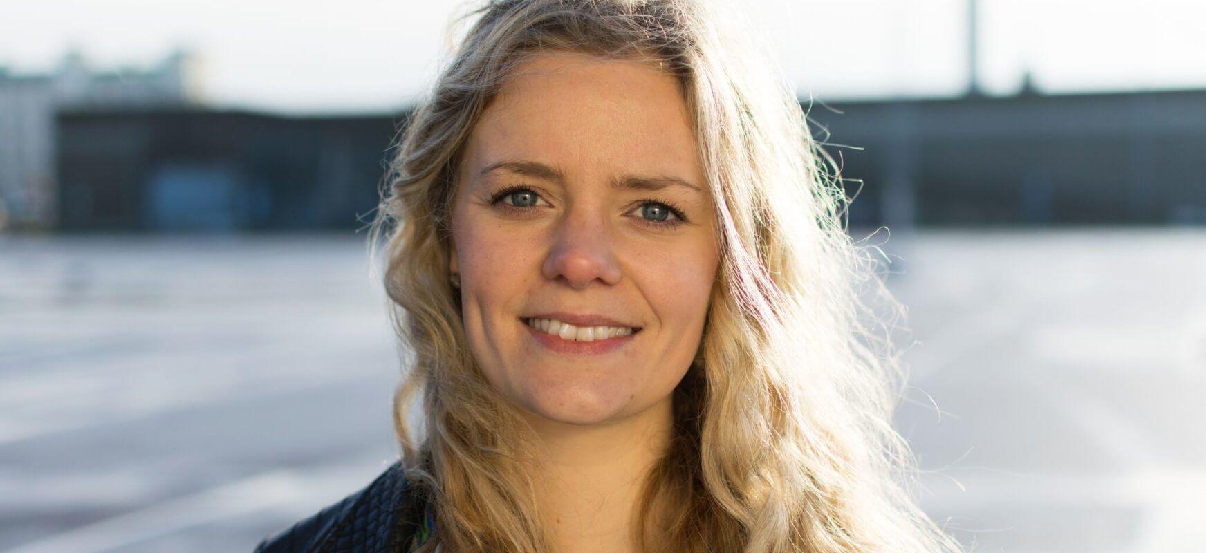 Bilden visar Sandra Jönsson