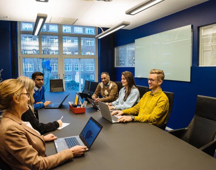 Förhandlingsrummet konferens