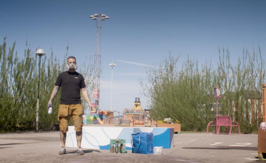 Tim Nedrup - graffiti artist & painter
